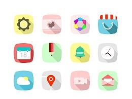 清新扁平icon