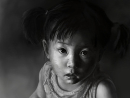 画个小姑娘~