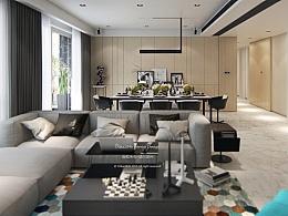 杭州市东方福邸 四居室设计