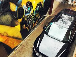 涂鸦大黄蜂