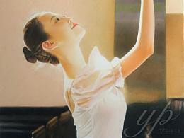 彩铅—《舞者》