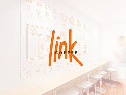 link咖啡品牌设计