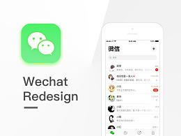 Wechat Redesign_微信IOS10设计