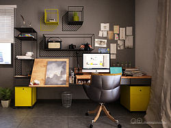 设计给自己的360度全景客厅