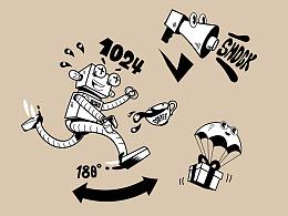 利程坊 EXPLORIUM X 特赞 X 咖喱牛 | 利程坊墙绘插画