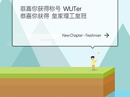 Token团队2015WUT迎新海报