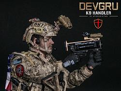 美国海军特种作战发展大队 DEVGRU - K9队员在阿富汗