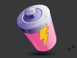 环保电池icon