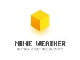 MINEWEATHER天气界面设计