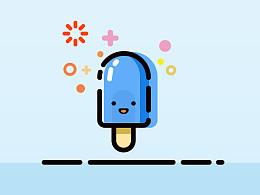 【作业】5分钟卡通UI教程——冰棍儿