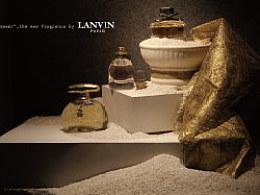 我的陈列设计课程作业——林梵香水展示
