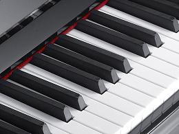 钢琴拍摄乐器产品摄影——立式钢琴组图
