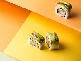寿司创意拍摄