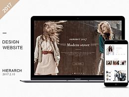 suit-dress女装首页设计