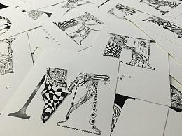 2015·A TO Z字母插画
