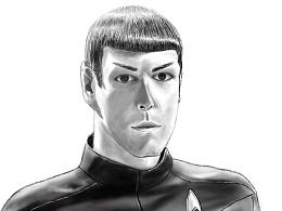 星际迷航主角 Spock  -第一幅数位板作品要存站酷