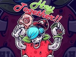 草莓先生!