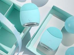 洁面仪  护肤品 化妆品 产品拍摄