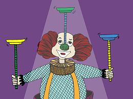小丑色彩版
