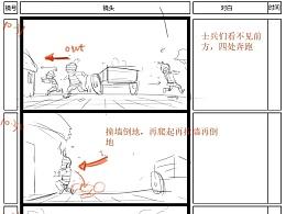 动画片《孟子的故事》分镜设计