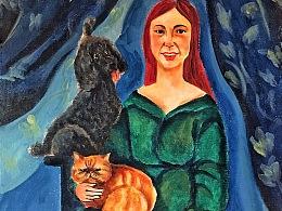 猫、女人和狗