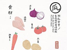 [阿瓜食堂]第二话 番茄鸡肉浓情焗饭