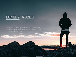 LONELY WORLD