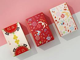 代餐粉礼盒-红豆薏米粉-包装