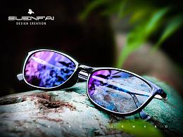 天猫淘宝太阳镜夹片镜架 详情页拍摄修图 眼镜主图修图拍摄海报设计
