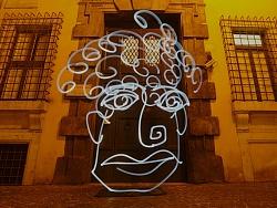 罗马光绘之旅 by RoyWang 付LPWA世界光绘联盟联合创作巨幅光绘作品