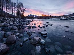 北疆水摄影创作