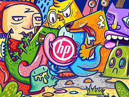 """【手绘】小怪物:""""HP看起来很好吃"""""""