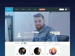 UI设计 网页设计 简约风设计 极简风格