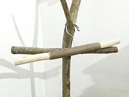 「熹時光木作」原生态衣架