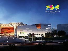 2014年受邀参与上海世博会博物馆Logo征集,落选标志分享。