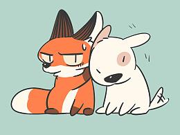 废柴狐阿桔|壁纸衍生9图
