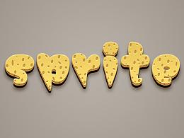 练习~奶酪字体