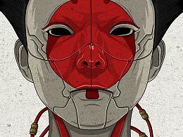 《攻壳机动队》概念海报