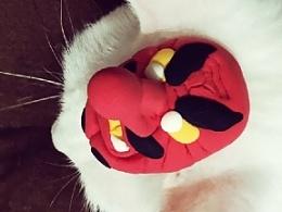 [粘土冰箱贴制作] 日本能剧天狗面具