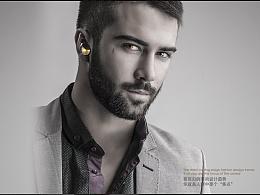 迷你蓝牙耳机工业设计,电商推广