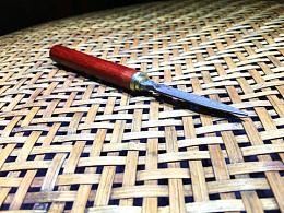 小叶紫檀 大马士革 · 茶刀