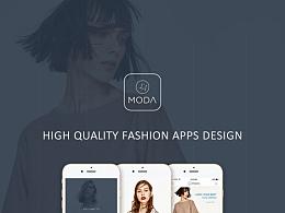 垂直电商类App-Lamoda品牌设计
