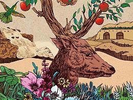 食森之《食野之苹》绘制教程