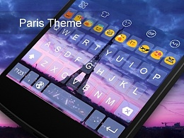 【键盘主题第一弹】Paris