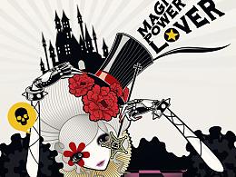 魔力猫产品与插画设计
