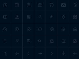 线性icon临摹