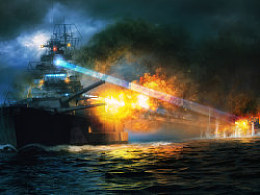 BismarckVSMSPrinceofWales-巨舰时代系列插图