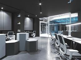 现代办公空间设计表现