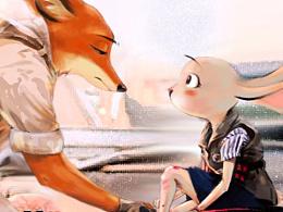狐兔子的cosplay
