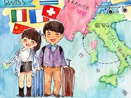 【始终牵手旅行第二集】欧洲行之在希腊#出发的勇气2014#